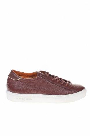 Мъжки обувки Philippe Model, Размер 42, Цвят Кафяв, Естествена кожа, Цена 201,75лв.