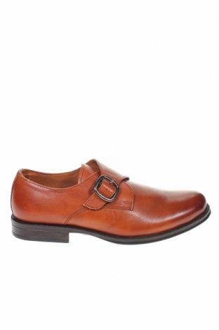 Мъжки обувки PuroEGO, Размер 43, Цвят Кафяв, Естествена кожа, Цена 89,25лв.