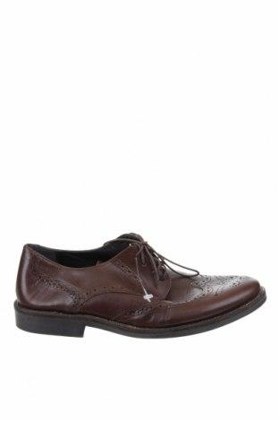Ανδρικά παπούτσια Red Tape, Μέγεθος 44, Χρώμα Καφέ, Γνήσιο δέρμα, Τιμή 21,92€