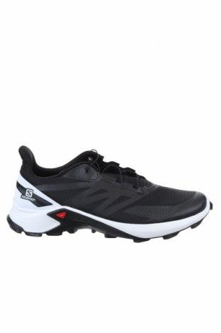 Мъжки обувки Salomon, Размер 48, Цвят Черен, Текстил, еко кожа, Цена 141,75лв.