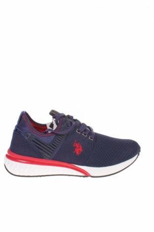 Ανδρικά παπούτσια U.S. Polo Assn., Μέγεθος 42, Χρώμα Μπλέ, Κλωστοϋφαντουργικά προϊόντα, Τιμή 61,47€