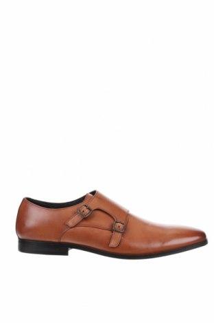 Мъжки обувки Zign, Размер 48, Цвят Кафяв, Естествена кожа, Цена 54,52лв.
