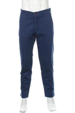 Pánské kalhoty , Velikost L, Barva Modrá, Bavlna, Cena  172,00Kč