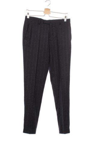 Мъжки панталон Burton of London, Размер S, Цвят Син, 69% полиестер, 29% вискоза, 2% еластан, Цена 60,52лв.