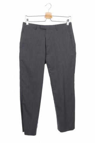 Мъжки панталон Banana Republic, Размер S, Цвят Сив, 96% вълна, 4% други материали, Цена 56,70лв.