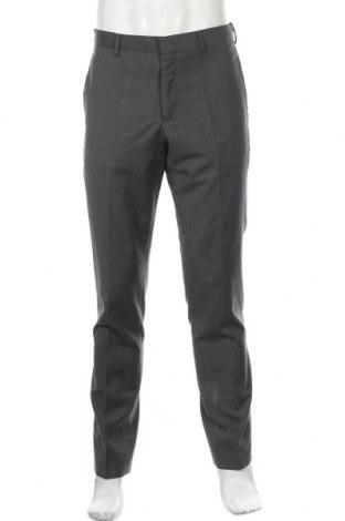 Мъжки панталон COS, Размер M, Цвят Сив, Вълна, Цена 26,57лв.
