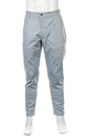 Ανδρικό παντελόνι Defacto, Μέγεθος L, Χρώμα Μπλέ, 98% βαμβάκι, 2% ελαστάνη, Τιμή 12,73€