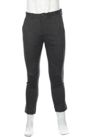 Мъжки панталон Gap, Размер M, Цвят Сив, 33% вискоза, 33% полиестер, 33% вълна, 1% еластан, Цена 7,35лв.