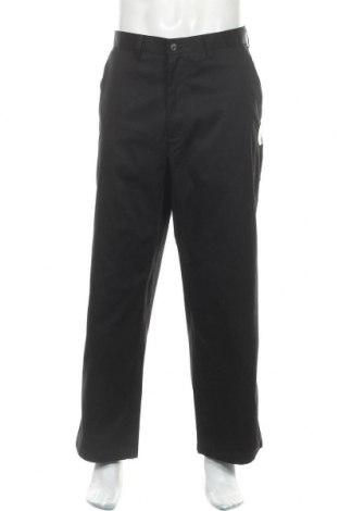 Мъжки панталон George, Размер XL, Цвят Черен, 75% памук, 23% полиестер, 2% еластан, Цена 39,90лв.