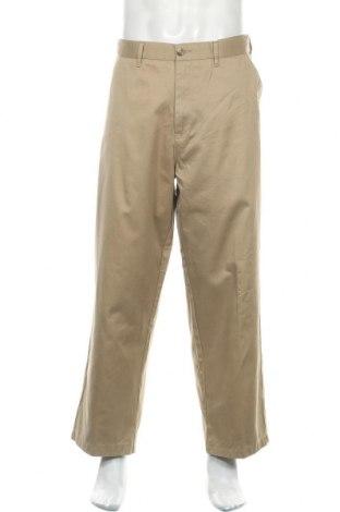 Мъжки панталон George, Размер XL, Цвят Бежов, Памук, Цена 27,93лв.