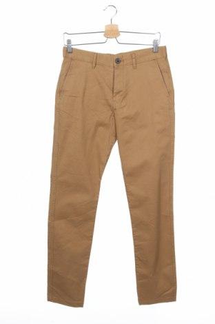 Мъжки панталон H&M L.O.G.G., Размер S, Цвят Кафяв, 98% памук, 2% еластан, Цена 44,10лв.