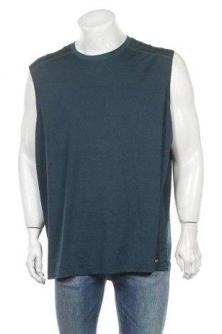 Ανδρική αμάνικη μπλούζα Athletic Works, Μέγεθος XXL, Χρώμα Μπλέ, 94% πολυεστέρας, 6% ελαστάνη, Τιμή 9,87€