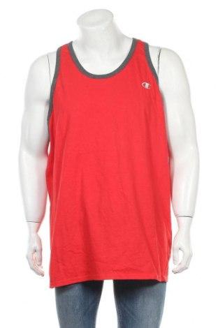 Ανδρική αμάνικη μπλούζα Champion, Μέγεθος XXL, Χρώμα Κόκκινο, Βαμβάκι, Τιμή 8,77€