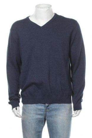 Pánský svetr  Montego, Velikost XXL, Barva Modrá, Bavlna, Cena  239,00Kč