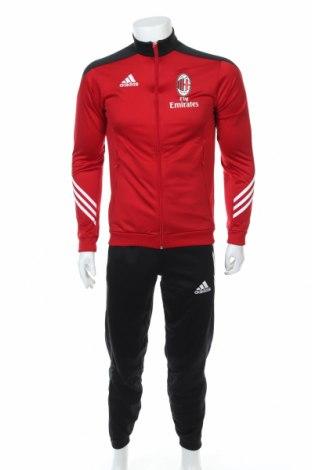 Αθλητικό ανδρικό σύνολο Adidas, Μέγεθος S, Χρώμα Μαύρο, Πολυεστέρας, Τιμή 68,41€
