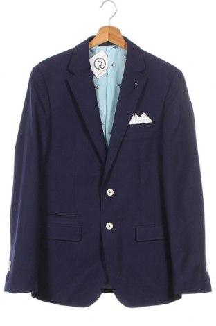 Мъжко сако, Размер M, Цвят Син, Полиестер, Цена 34,95лв.