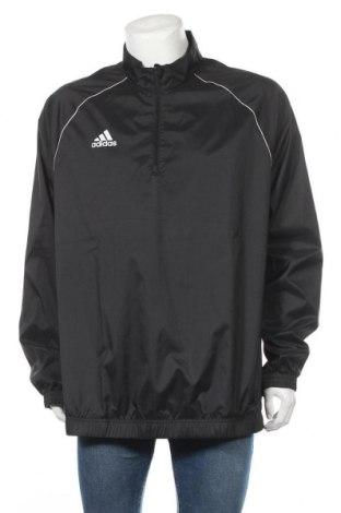 Ανδρικό αθλητικό μπουφάν Adidas, Μέγεθος XL, Χρώμα Μαύρο, Τιμή 17,28€