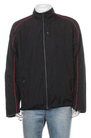 Ανδρικό αθλητικό μπουφάν Rodeo, Μέγεθος XL, Χρώμα Μαύρο, Πολυεστέρας, Τιμή 11,69€