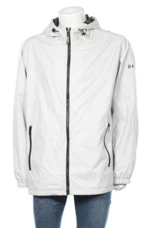 Мъжко спортно яке DKNY, Размер XXL, Цвят Сив, Полиестер, Цена 189,07лв.