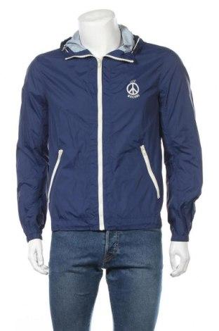 Ανδρικό μπουφάν Love Moschino, Μέγεθος S, Χρώμα Μπλέ, Πολυαμίδη, Τιμή 72,87€