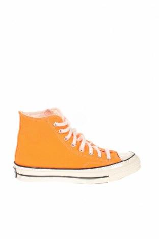 Обувки Converse, Размер 39, Цвят Оранжев, Текстил, Цена 96,75лв.