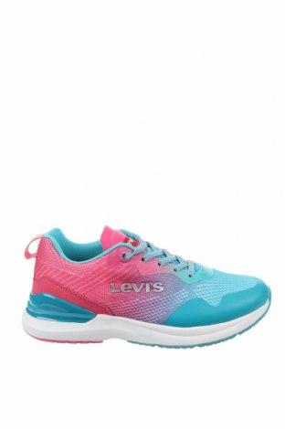 Обувки Levi's, Размер 35, Цвят Син, Текстил, еко кожа, Цена 74,25лв.