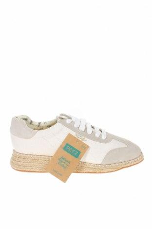 Обувки Paez, Размер 42, Цвят Бял, Текстил, Цена 63,92лв.