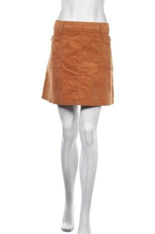 Φούστα Ally, Μέγεθος XL, Χρώμα Καφέ, 97% βαμβάκι, 3% ελαστάνη, Τιμή 7,40€