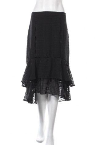 Пола Atmos & Here, Размер XL, Цвят Черен, Вискоза, Цена 31,92лв.