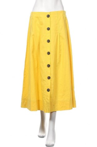 Пола Christian Berg, Размер M, Цвят Жълт, 55% лен, 45% памук, Цена 48,00лв.