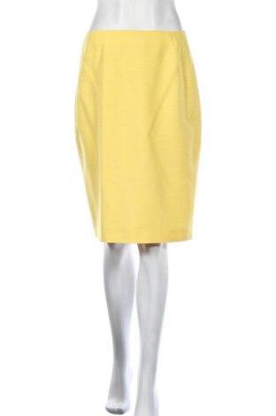 Пола Escada, Размер M, Цвят Жълт, Коприна, Цена 74,55лв.