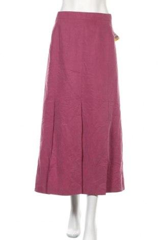 Φούστα Gerry Weber, Μέγεθος XL, Χρώμα Ρόζ , 70% βισκόζη, 30% πολυεστέρας, Τιμή 9,91€