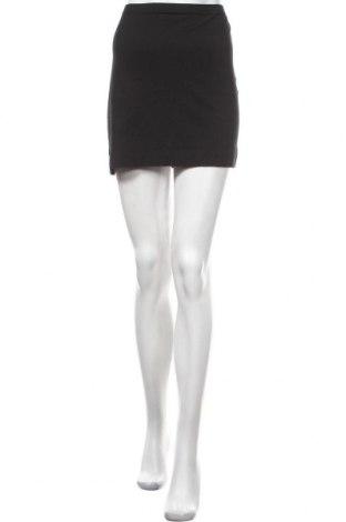 Пола H&M, Размер M, Цвят Черен, 95% памук, 5% еластан, Цена 4,26лв.