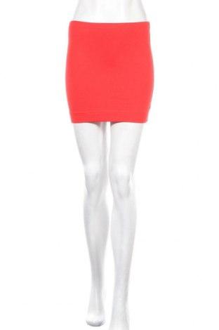 Пола H&M, Размер XS, Цвят Червен, 95% памук, 5% еластан, Цена 3,90лв.