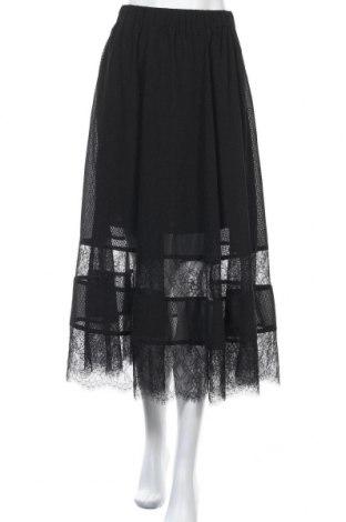 Пола H&M, Размер S, Цвят Черен, Полиестер, Цена 21,95лв.