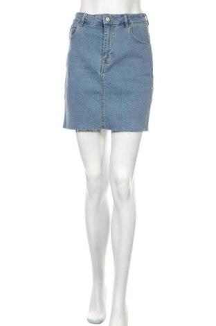 Пола H&M, Размер M, Цвят Син, 77% памук, 19% полиестер, 3% други тъкани, 1% еластан, Цена 18,00лв.