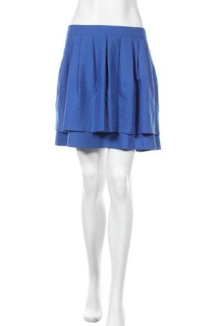 Пола H&M, Размер XL, Цвят Син, 64% полиестер, 32% вискоза, 4% еластан, Цена 6,24лв.