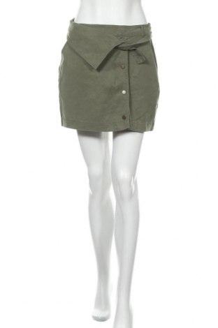 Пола H&M, Размер M, Цвят Зелен, 100% лиосел, Цена 18,75лв.