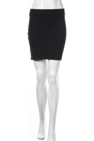 Пола H&M Divided, Размер S, Цвят Черен, 95% памук, 5% еластан, Цена 3,70лв.