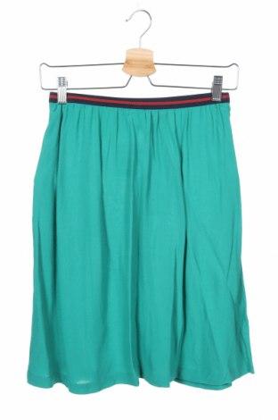 Φούστα Holly & Whyte By Lindex, Μέγεθος XS, Χρώμα Πράσινο, Βισκόζη, Τιμή 10,07€