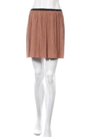 Пола Miss Shop, Размер XL, Цвят Кафяв, 70% полиестер, 30% вискоза, Цена 16,07лв.
