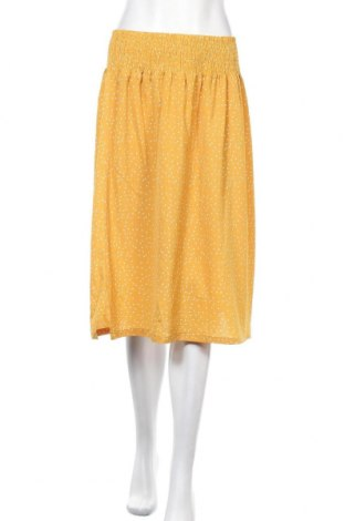 Пола Miss Valley, Размер XL, Цвят Жълт, 95% полиестер, 5% еластан, Цена 17,01лв.