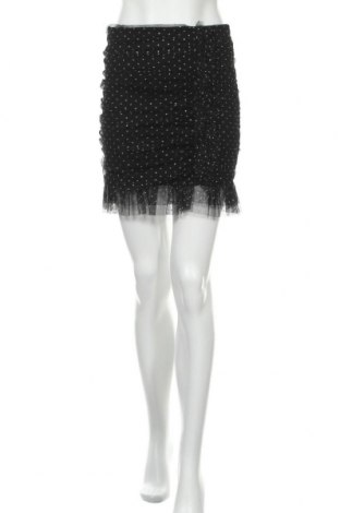 Пола Patrizia Pepe, Размер S, Цвят Черен, 88% полиестер, 12% еластан, Цена 36,00лв.