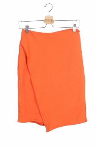 Пола Sportmax, Размер XS, Цвят Оранжев, 71% вискоза, 27% ацетат, 2% еластан, Цена 42,64лв.