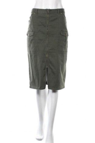 Пола Sportsgirl, Размер XL, Цвят Зелен, 98% памук, 2% еластан, Цена 22,05лв.