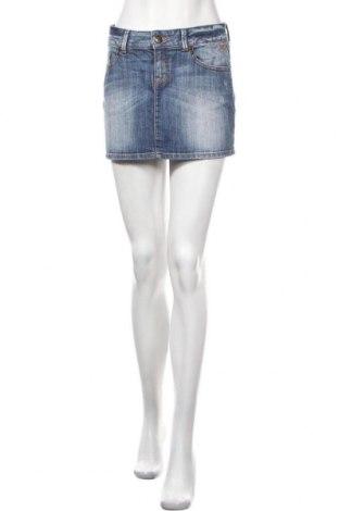 Пола Tom Tailor, Размер S, Цвят Син, 99% памук, 1% еластан, Цена 7,09лв.