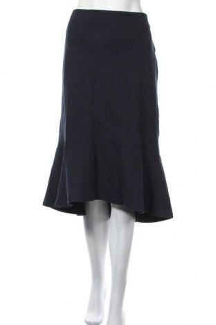 Пола Uniqlo, Размер XL, Цвят Син, 68% памук, 30% полиестер, 2% еластан, Цена 39,69лв.