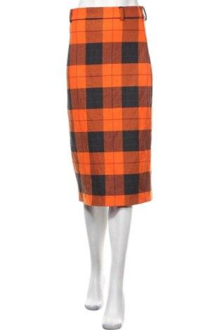 Пола Zara, Размер S, Цвят Черен, 62% полиестер, 26% вискоза, 9% вълна, Цена 57,67лв.