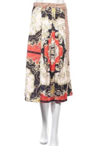 Пола Zara, Размер S, Цвят Многоцветен, Полиестер, Цена 51,75лв.