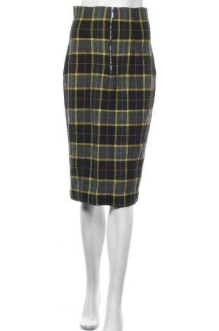 Пола Zara, Размер S, Цвят Многоцветен, 47% памук, 35% полиестер, 9% акрил, 5% вълна, 4% други тъкани, Цена 46,72лв.